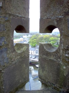 View from Castle Rushen